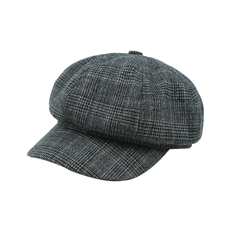 6d9969c30fcee Stock Newsboy Hats Short Brim Berets Men Caps Blank Wool Beret ...