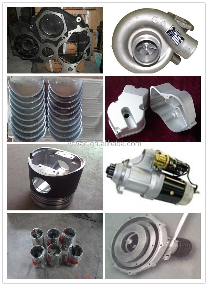 Original Weichai Marine Diesel Engine Spare Parts With Filters Starter Turbocharger Piston Bearing Crankshaft