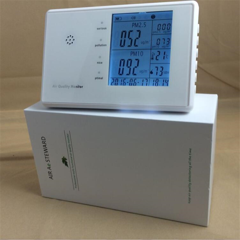 Free Shipping portable multi gas meter price home/car PM2.5 /PM10 sensor Air Quality Meter detector monitor HCHO TVOC
