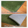 microfiber polyester shaggy foam massage seat cushion