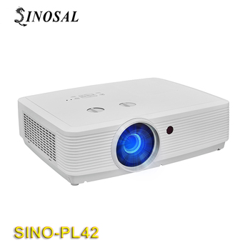 SINOSAL SINO-PL42 4500 ANSI LUMENS 1920*1200 resolution 3lcd small holographic projector full hd