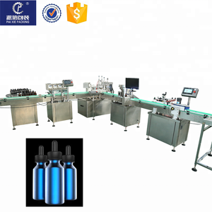 sales promotion full automatic e cigarette bottle capping/labeling/filling machine for sale