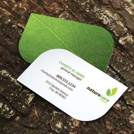Leaf shaped business cards wholesale shaped business cards suppliers alibaba