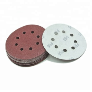 China red abrasive Sanding Disc sandpaper polishing rolls