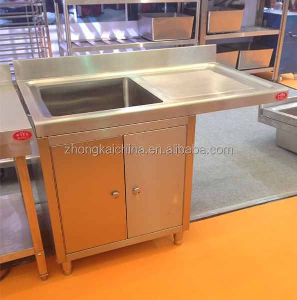 Metal Kitchen Sink Base Cabinet Stainless Steel Kitchen Sink Cabinet Single Bowl Stainless Steel Sink With Drainboard Buy Metal Kitchen Sink Base Cabinet Stainless Steel Kitchen Sink Cabinet Single Bowl Stainless Steel Sink With Drainboard
