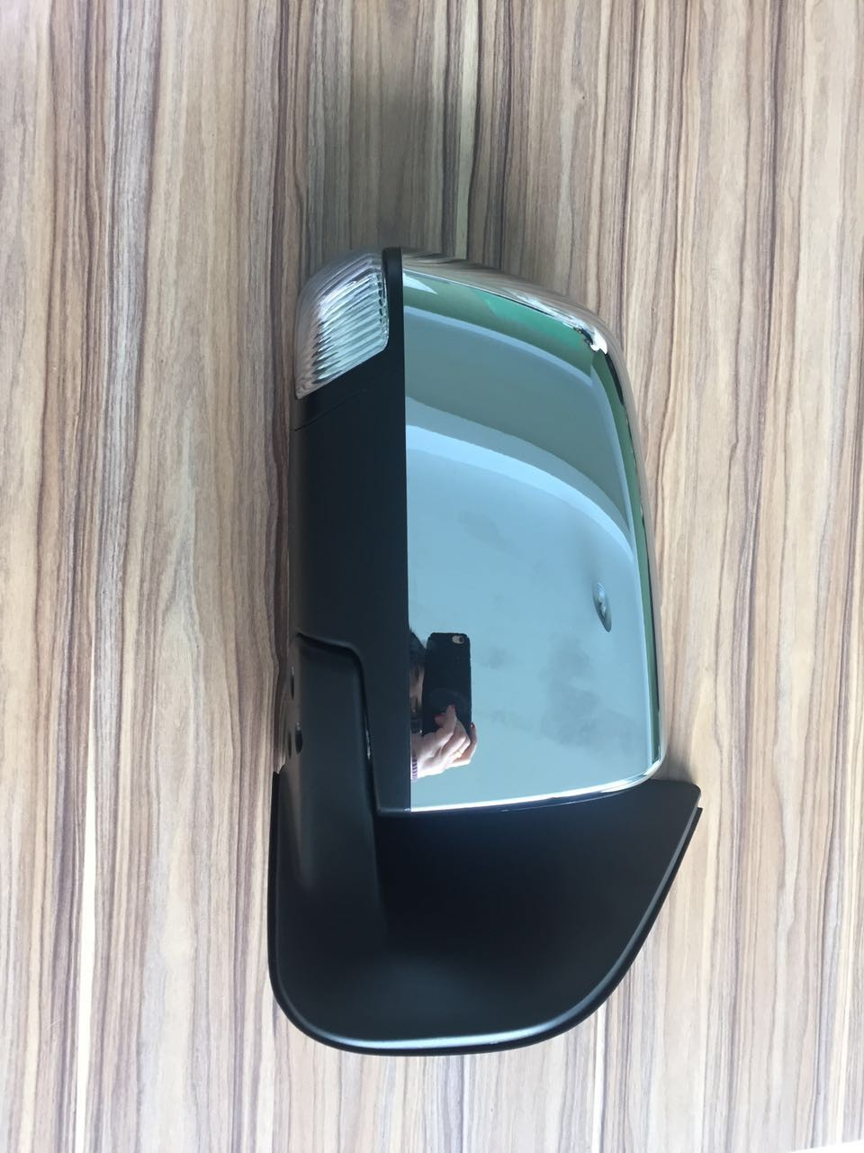 FASHION ELECTRIC CHROMED DOOR MIRROR REARVIEW MIRROR WITH SHORT LIGHTS FOR ISUZ DMAX 2012-2017