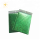 Self Adhesive Green Metallic Glamour Bubble Mailers Shipping Envelope Bags