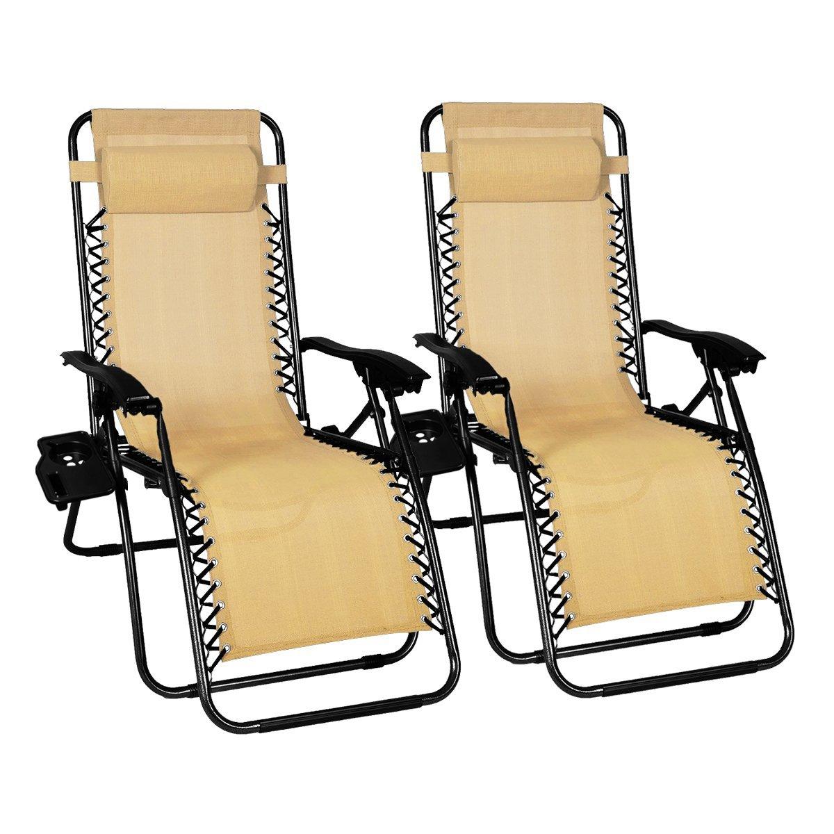 Buy Odaof Zero Gravity Chair Recliner Outdoor Patio Lounge