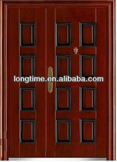 2017 mother and son metal door (LT-6062) double steel door