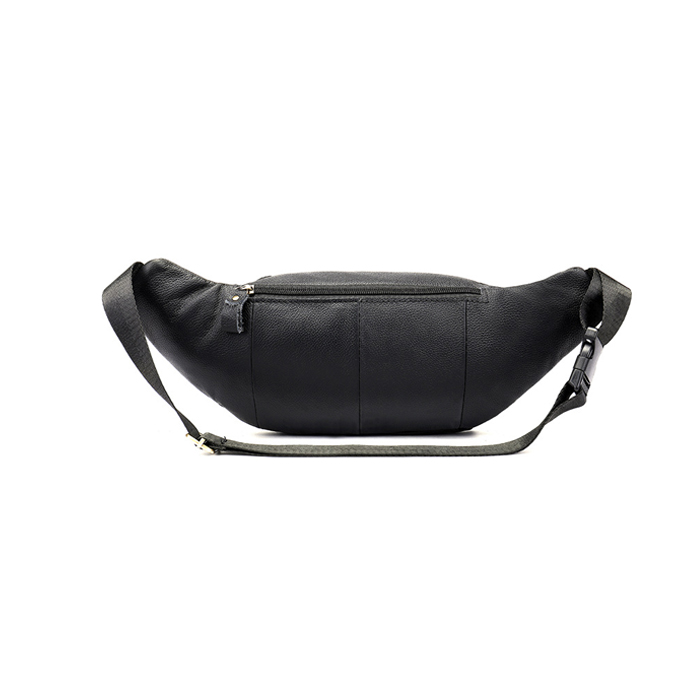 Top Quality Real Leather Men Travel Waist Pack