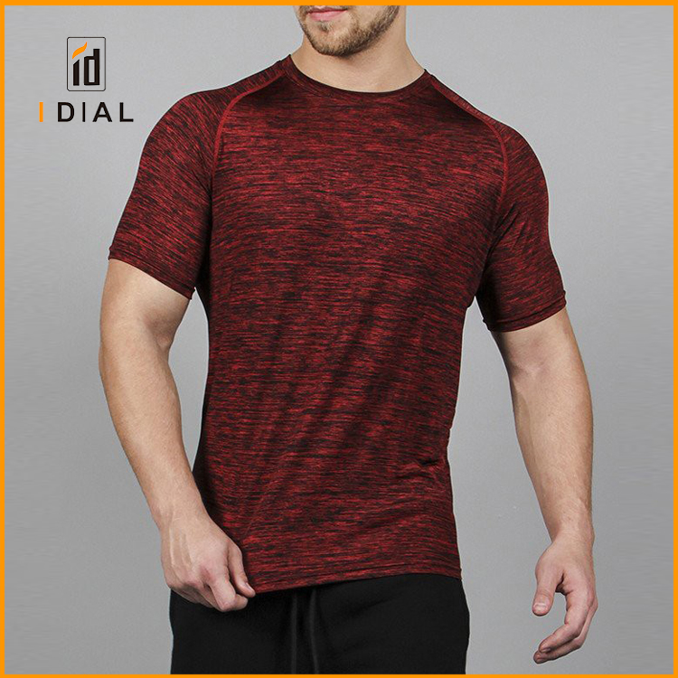 High quality latest design handball T shirts wholesale custom fitness plain stronger mens bodybuilding sports wear