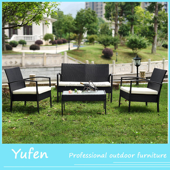 Garden Furniture Outdoor Rattan Clearance Sale Half Moon Sofa Ambia