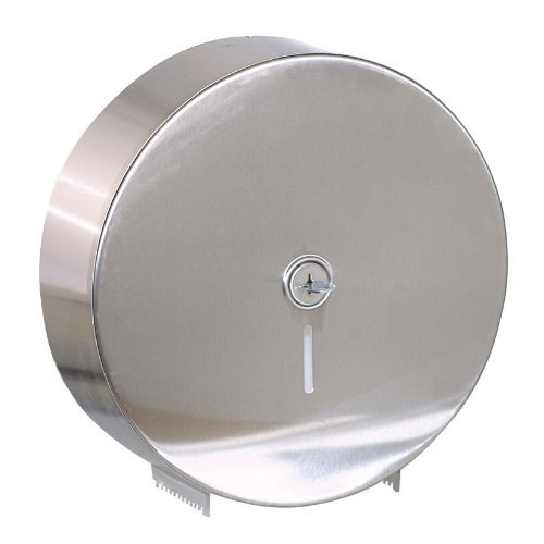 Georgia Pacific 59448 Jumbo Jr. Bathroom Tissue Dispenser Hi-Cap, Replaces GP 58493, Stainless Steel