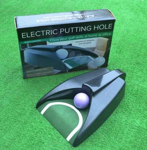 Black home Office use golf Ball auto return putting cup