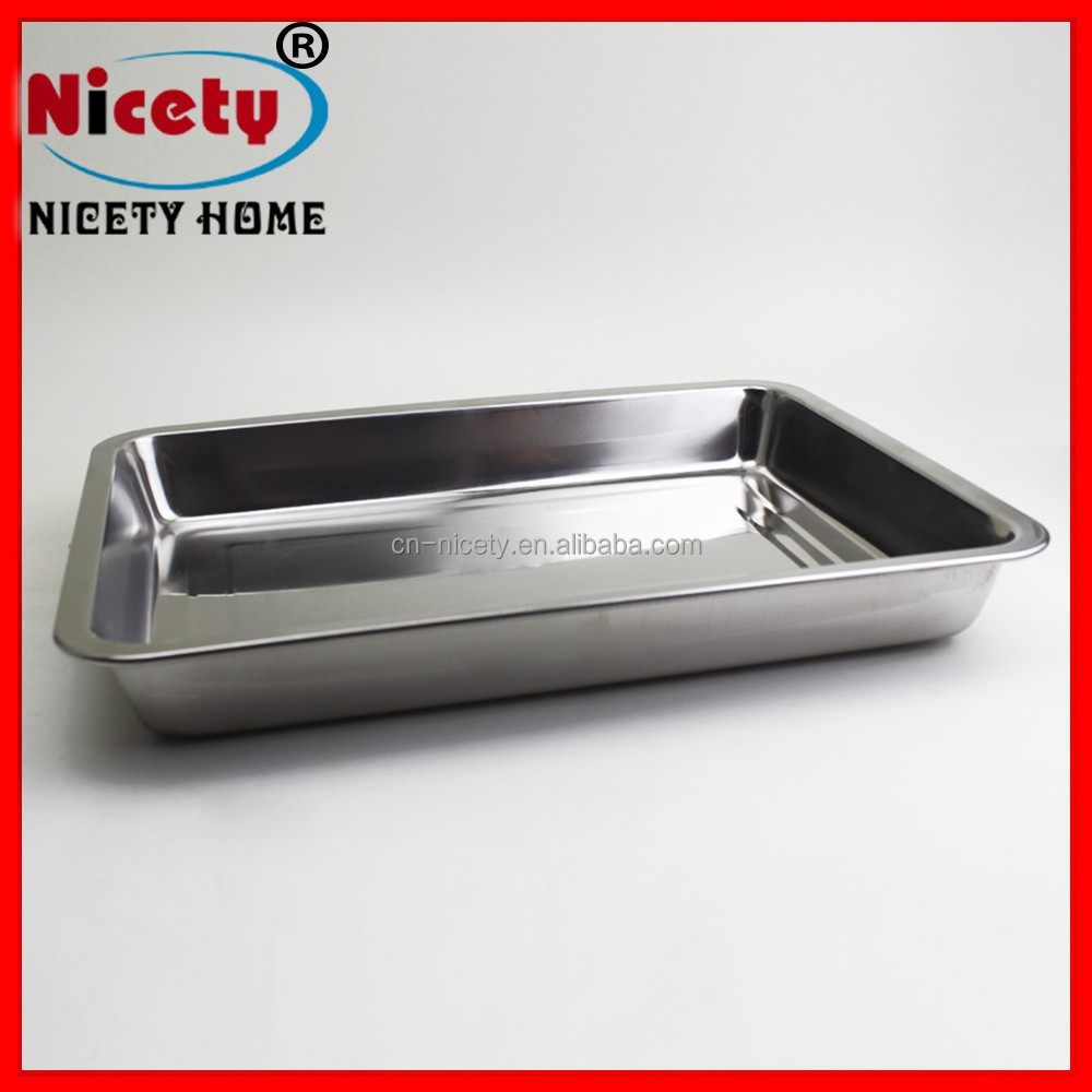 Cooling food prison hospital train stainless steel fast food serving tray