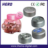 popular toys inflatable piggy bank money counter/currency counter for qatari riyal(qar) for gifts