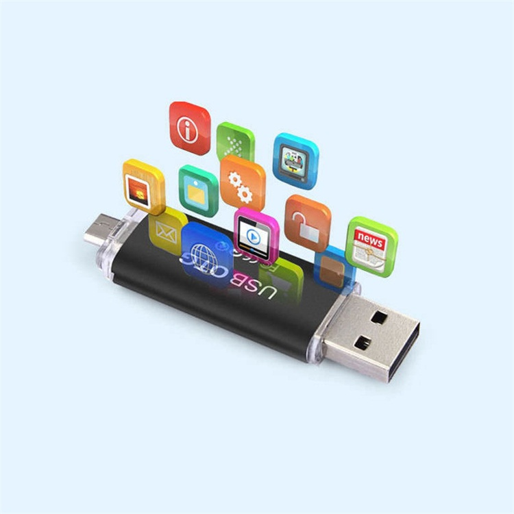High Quality Plastic Usb 3.0 Mobile Phone Usb Flash Drive Otg Usb Memory