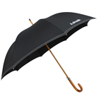 "2018 high quality 23""x 8 k automatic wooden shaft promotional umbrella"