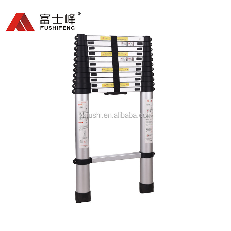 3.8m telescopic ladder /ladder telescopic with EN131-6(soft close)