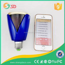 wifi led rgb bulb e27 with Samsung chip, wireless iphone Android control, dimmable 7w wifi led rgb bub