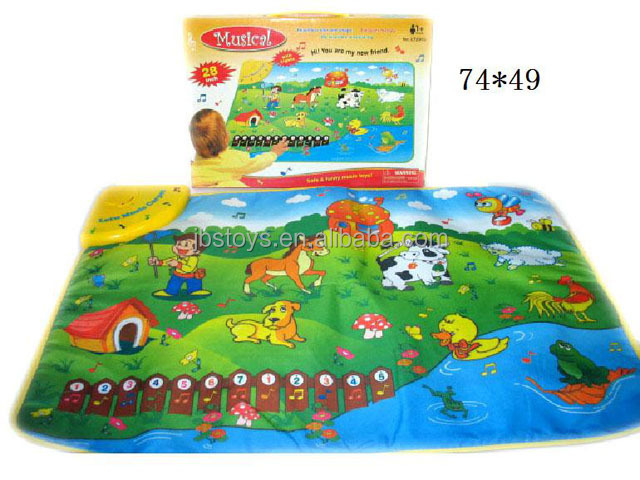 Imitation Fisher Price play mat kids play mat baby play mat with music & light TS14050184