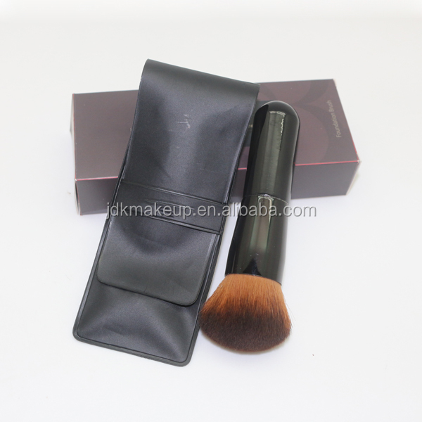 OEM Portable Essential Makeup Cosmetic Tool Cream BB Foundation Brush for Face Beauty with Elegant Gift Package