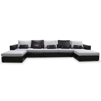 Cheap sofa set factory new design,u shaped sectional sofa for sale ...
