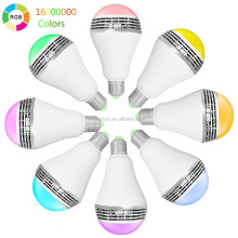 2017 Hot Timer+Group+Android IOS RGB White Wifi Bluetooth 7W 12W Smart Lighting,LED Light Bulb,Bedroom Bulb lighting