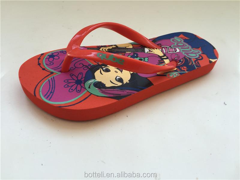 9c9e7ad1d Cute Children bright design flip flops Kids cheap summer beach slipper  Sandals