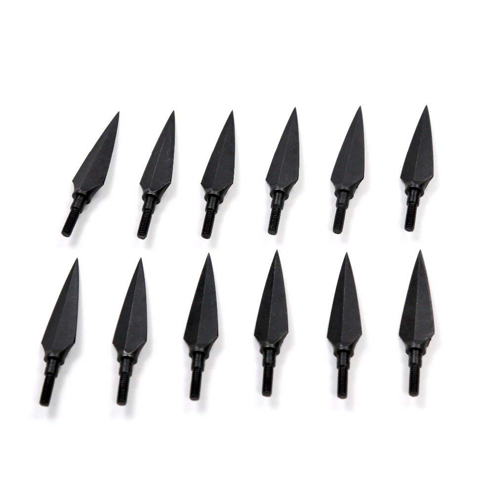Baoblaze 12 Pieces Archery Aluminum Arrow Inserts 6.2mm Arrow Part Accessories