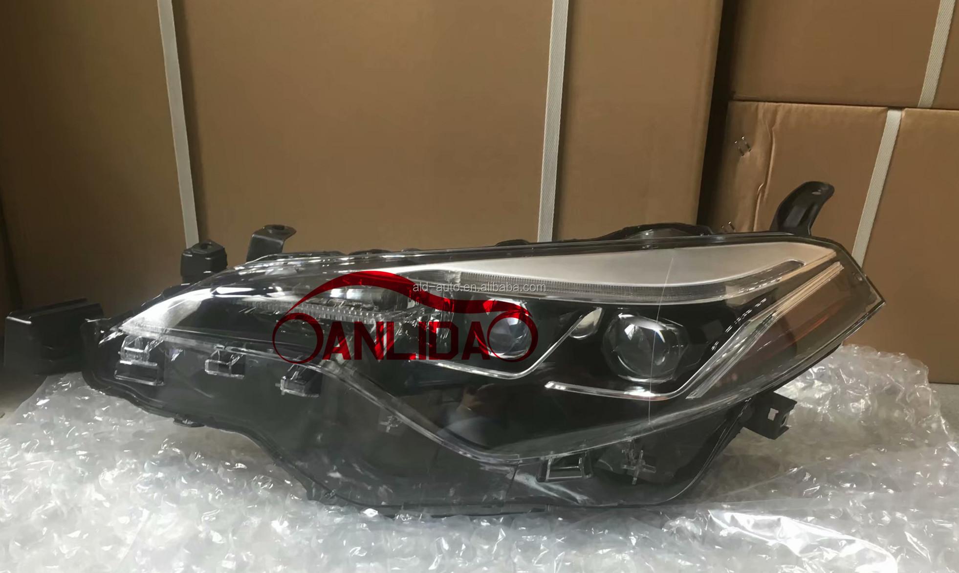 For Corolla 2017 Head Lamp   Head Light For Corolla 2018