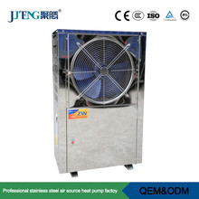 EVI Air source low temp Classic Heat pump 10kw Juteng industrial top selling high COP for hot water and floor heating