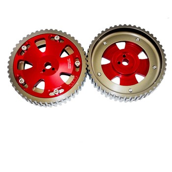 Cam Gears Pulley For Mitsubishi Evo 1 2 3 4 5 6 7 8 9 Eclipse 4g63 Red -  Buy Cam Gear,Adjustable Cam Gear,Cam Gears Product on Alibaba com