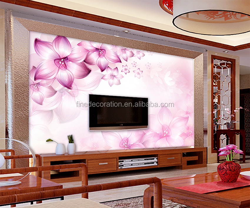 A Variety Of Materials Bedroom Decor 3d Stone Wall Mural - Buy 3d ...