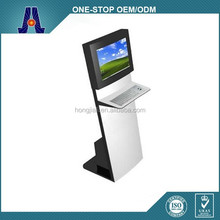 "19"" single touch screen retail sales kiosk for payment,advertising,info/indoor retail kiosks for sale (HJL-2011)"