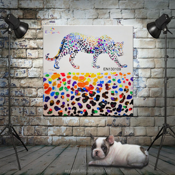 Painting Abstract Cheetah Animal Pictures Wall Art - Buy Wall Art ...