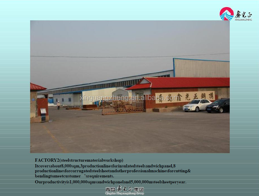 prefabricated steel structure warehouse manufacturer china