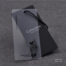 Wholesale Custom Paper Swing Garment Hang Tags For Clothing