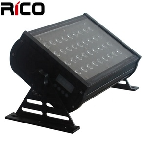 outdoor waterproof stage wash with dmx 36x3w led wallwasher rgb standard DMX 512