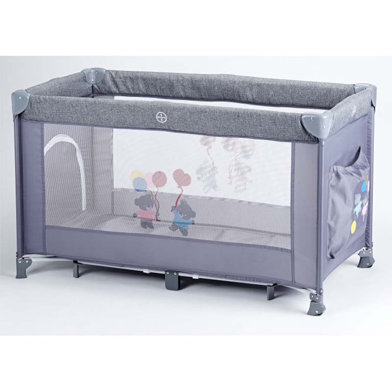 Customize safety foldable baby portable box game bed