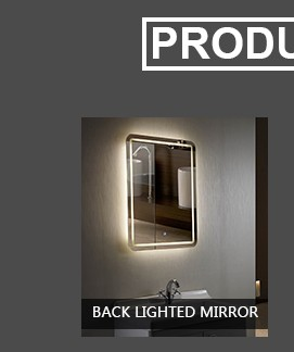 2017 vanity mirror touch screen bathroom mirror
