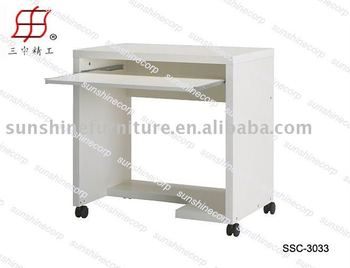 Movable Mordern Simple Office Computer Table Desk