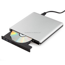 USB 3.0 Aluminum External DVD Burner Drive CD/DVD-RW ROM Writer Recorder Player for Laptop Apple iMac