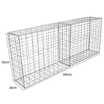 Hot Dipped Factory Price Galvanized Welded Gabion Box