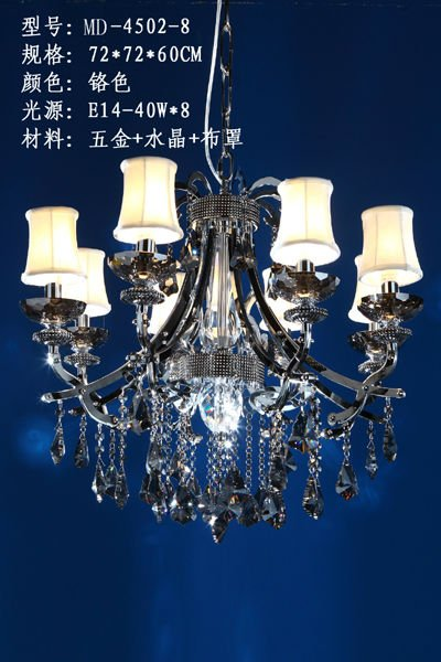 2012 CE&UL approval restaurant pendant lighting with fabric lampshade,by Meerosee Manufacturer