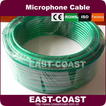 low noise green microphone cable bulk buy microphone cable bulk colored microphone wires. Black Bedroom Furniture Sets. Home Design Ideas