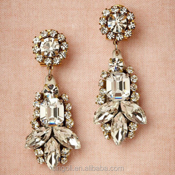 Ada Stone Earrings Alibaba Website Diamond India Jewelry Multil ...