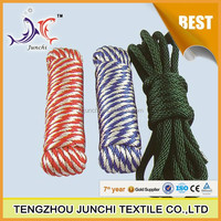 16 strand pp braided rope pp twisted rope for packing