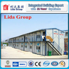 Temporary Dormitory Steel Structure Prefabricated Site Office Building & Accommodation