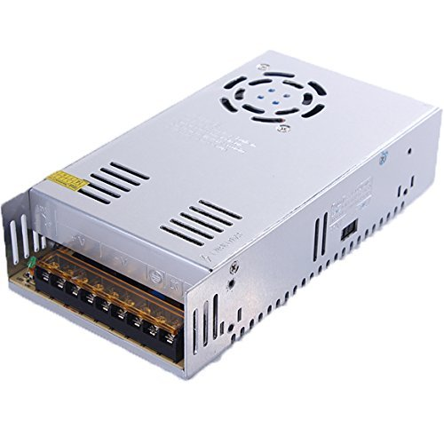 BMOUO 12V 30A DC Universal Regulated Switching Power Supply 360W for CCTV, Radio, Computer Project , LED Strip Lights